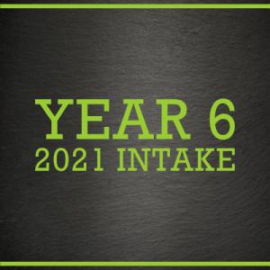 Y6 2021 Intake